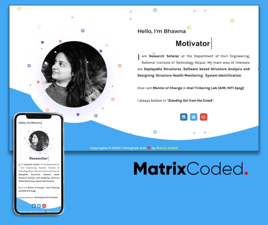 matrix coded